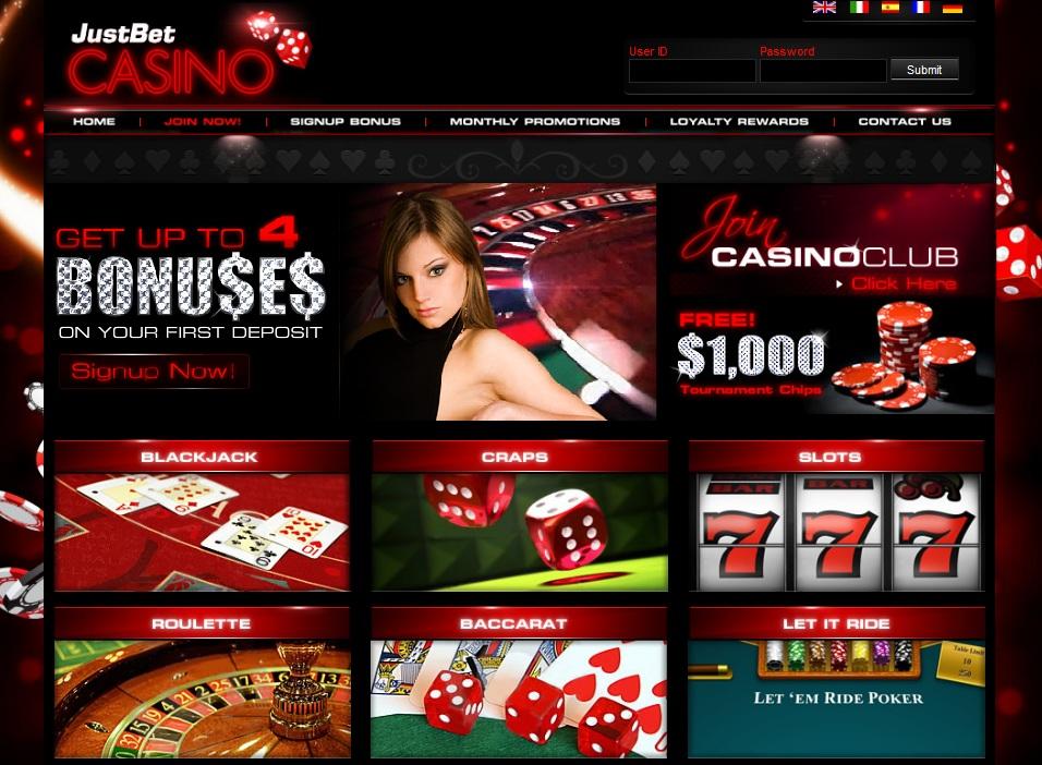 Just bet casino treasure bay casino gulfport